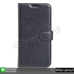 MWI-020A201 Wiko Lenny3 เคสมือถือวีโก้ฝาพับหนัง PU
