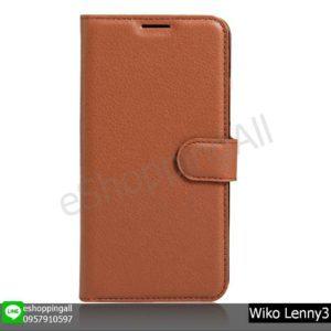 MWI-020A202 Wiko Lenny3 เคสมือถือวีโก้ฝาพับหนัง PU