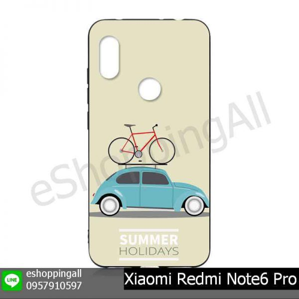 MXI-019A102 Xiaomi Redmi Note6 Pro เคสมือถือหัวเหว่ยยางนิ่มพิมพ์ลาย