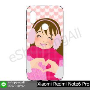 MXI-019A104 Xiaomi Redmi Note6 Pro เคสมือถือหัวเหว่ยยางนิ่มพิมพ์ลาย