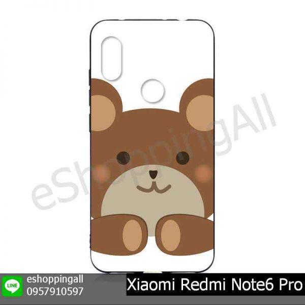 MXI-019A108 Xiaomi Redmi Note6 Pro เคสมือถือหัวเหว่ยยางนิ่มพิมพ์ลาย