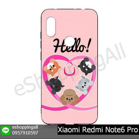 MXI-019A110 Xiaomi Redmi Note6 Pro เคสมือถือหัวเหว่ยยางนิ่มพิมพ์ลาย