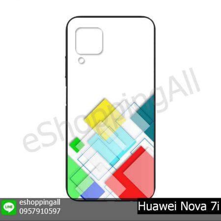 MHW-023A107 Huawei Nova 7i เคสมือถือหัวเหว่ยยางนิ่มพิมพ์ลาย