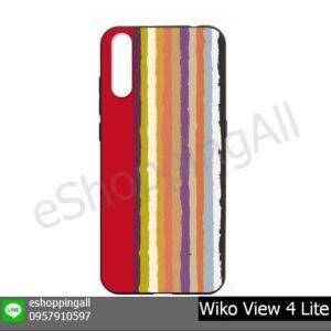 MWI-021A105 Wiko View 4 Lite เคสมือถือวีโก้แบบยางนิ่มพิมพ์ลาย