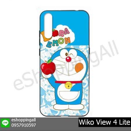 MWI-021A109 Wiko View 4 Lite เคสมือถือวีโก้แบบยางนิ่มพิมพ์ลาย