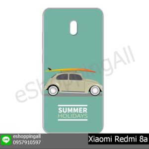 MXI-022A107 Xiaomi Redmi 8a เคสมือถือเสี่ยวมี่แบบแข็งพิมพ์ลาย