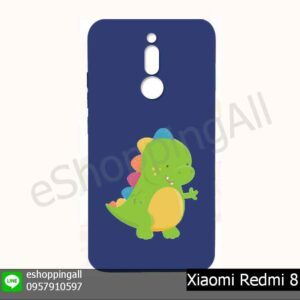 MXI-021A206 Xiaomi Redmi 8 เคสมือถือเสี่ยวมี่ยางนิ่มพิมพ์ลาย
