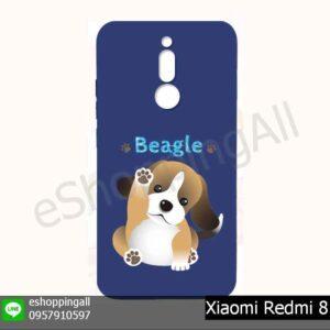 MXI-021A208 Xiaomi Redmi 8 เคสมือถือเสี่ยวมี่ยางนิ่มพิมพ์ลาย