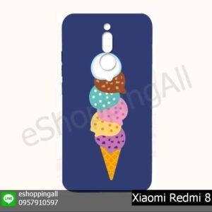 MXI-021A209 Xiaomi Redmi 8 เคสมือถือเสี่ยวมี่ยางนิ่มพิมพ์ลาย