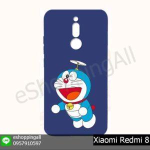 MXI-021A210 Xiaomi Redmi 8 เคสมือถือเสี่ยวมี่ยางนิ่มพิมพ์ลาย