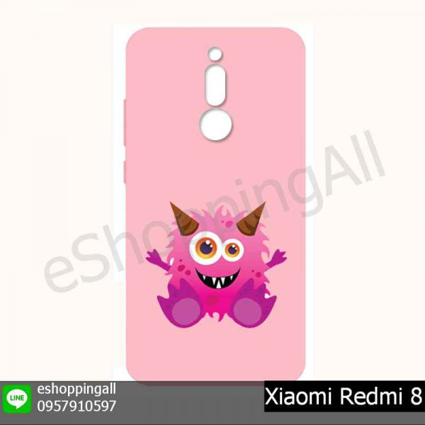 MXI-021A215 Xiaomi Redmi 8 เคสมือถือเสี่ยวมี่ยางนิ่มพิมพ์ลาย