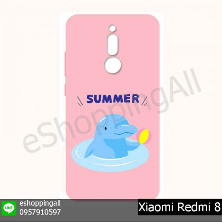 MXI-021A211 Xiaomi Redmi 8 เคสมือถือเสี่ยวมี่ยางนิ่มพิมพ์ลาย