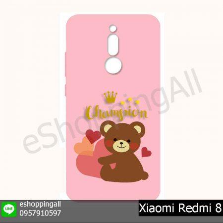 MXI-021A212 Xiaomi Redmi 8 เคสมือถือเสี่ยวมี่ยางนิ่มพิมพ์ลาย