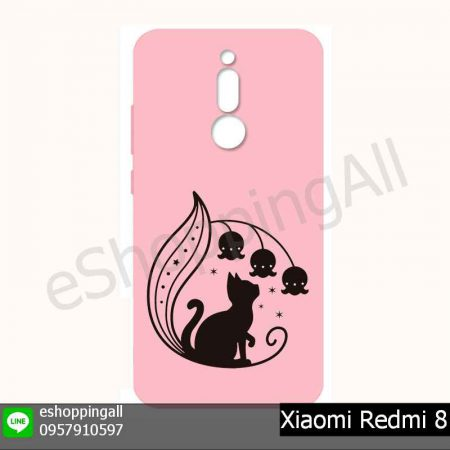 MXI-021A213 Xiaomi Redmi 8 เคสมือถือเสี่ยวมี่ยางนิ่มพิมพ์ลาย