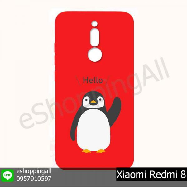 MXI-021A216 Xiaomi Redmi 8 เคสมือถือเสี่ยวมี่ยางนิ่มพิมพ์ลาย