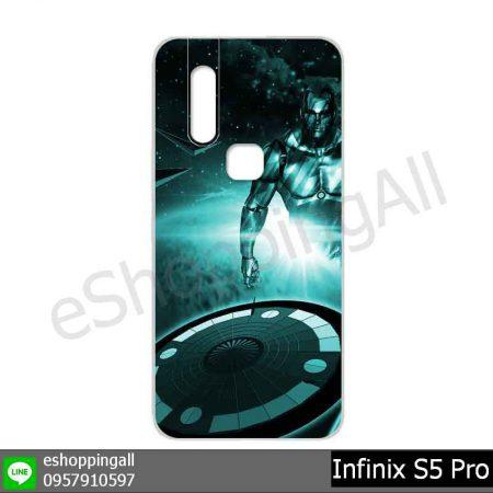 MIN-001A103 Infinix S5 Pro เคสมือถืออินฟินิกซ์ยางนิ่มพิมพ์ลาย