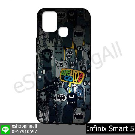 MIN-002A105 Infinix Smart 5 เคสมือถืออินฟินิกซ์ยางนิ่มพิมพ์ลาย