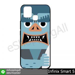 MIN-002A118 Infinix Smart 5 เคสมือถืออินฟินิกซ์ยางนิ่มพิมพ์ลาย