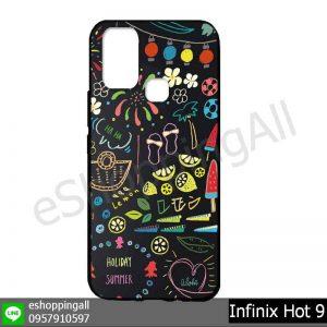MIN-003A116 Infinix Hot 9 เคสมือถืออินฟินิกซ์ยางนิ่มพิมพ์ลาย