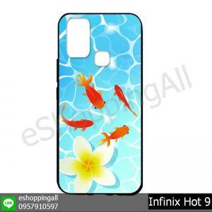 MIN-003A119 Infinix Hot 9 เคสมือถืออินฟินิกซ์ยางนิ่มพิมพ์ลาย